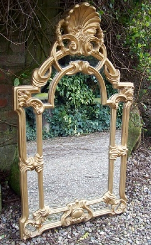 Art Nouveau Gilt Mirror -SOLD-