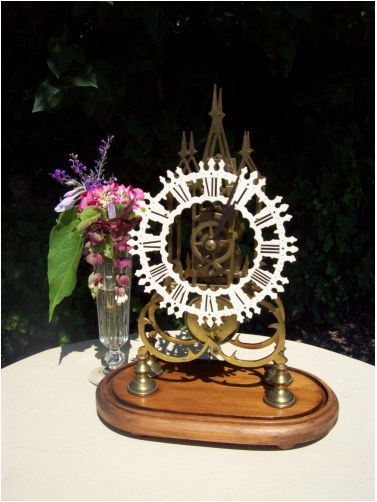 8 Day Skeleton Clock