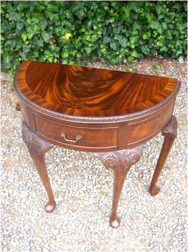 Demi-Lune Side Table -SOLD-