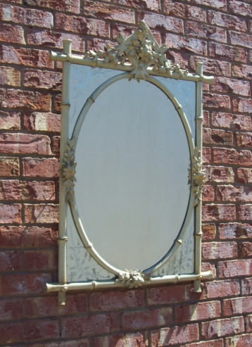 A 19th Century French Mirror -SOLD-