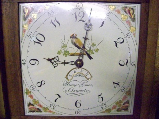 30 Hour Longcase Humphrey-Jones (Oswestry)