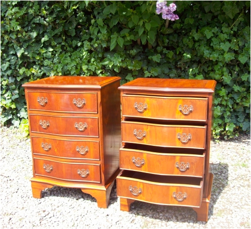Yew Chest of Drawers -SOLD-