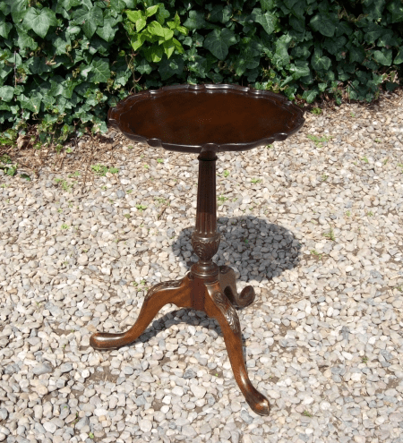 Walnut Occasional Table -SOLD-