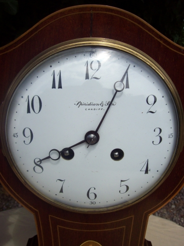 An 8 Day Balloon Mantle Clock - SOLD -