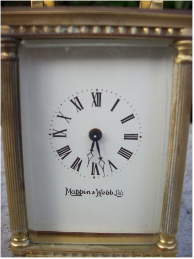 8 Day Miniature Carriage Clock -SOLD-