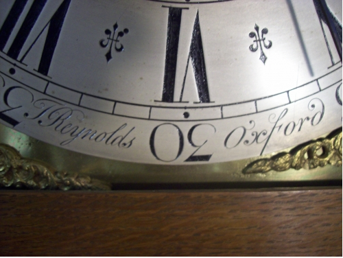 8 Day Longcase T.Reynolds (Oxford)