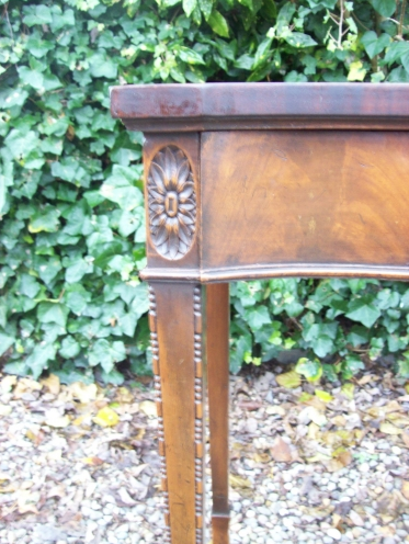 Mahogany Side Table -SOLD-