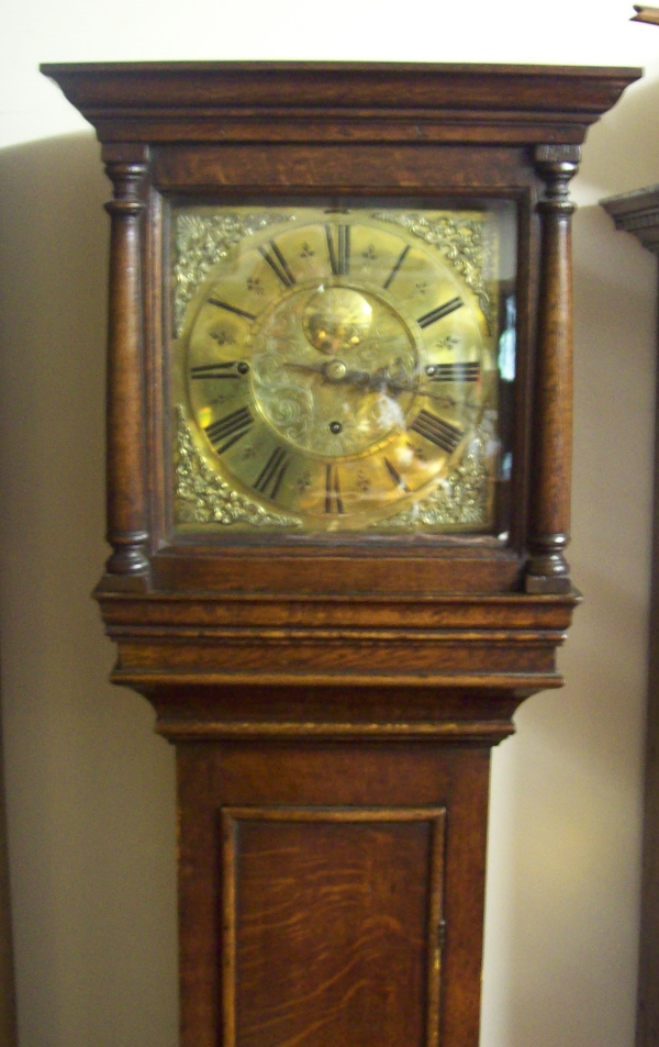 8 Day Musical Longcase