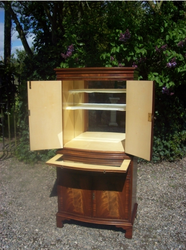 A Mahogany Cocktail Cabinet