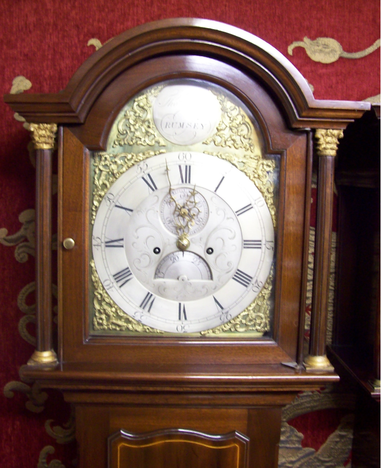 8 Day Longcase Hall (Rumsey)
