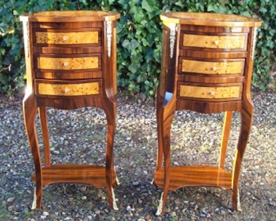 French Bedside Cabinets -SOLD-