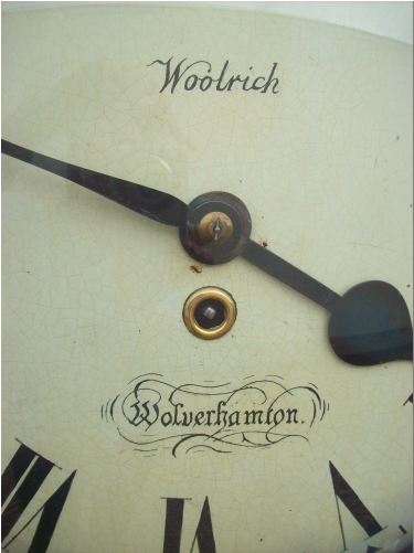 8 Day Fusee Woolrich (Wolverhampton)