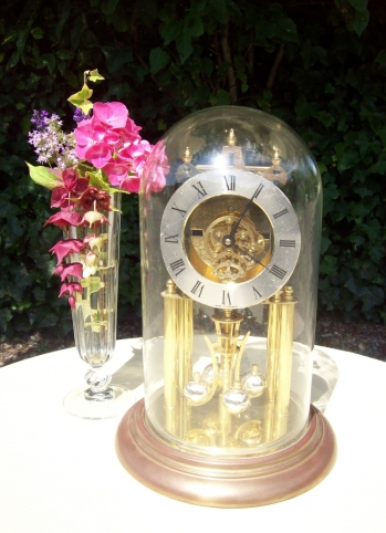 400 Day Brass Clock - On Hold -