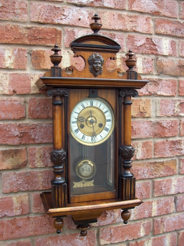 8 Day Wall Clock -SOLD-