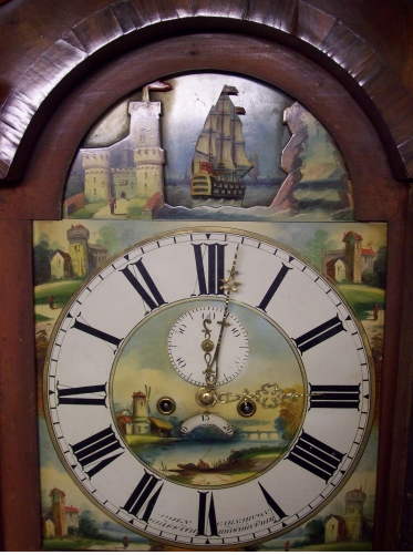 8 Day Longcase Griffith (Carnarvon)