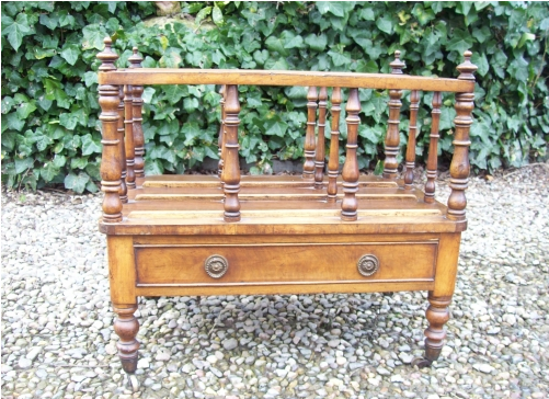 Walnut Canterbury -SOLD-