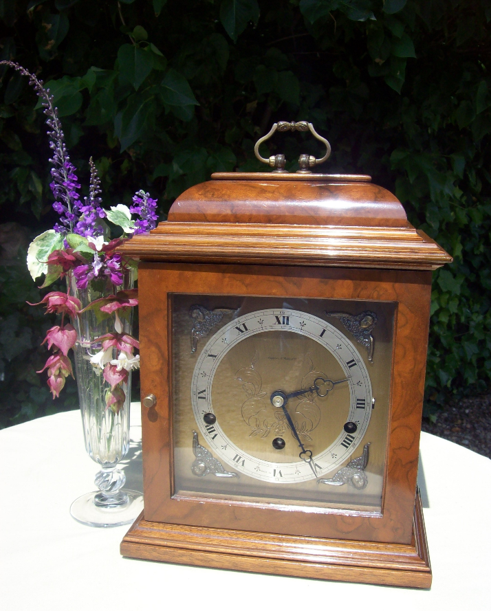 8 Day Bracket Clock -SOLD-