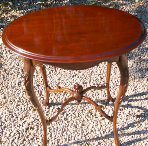 Oval Mahogany Table
