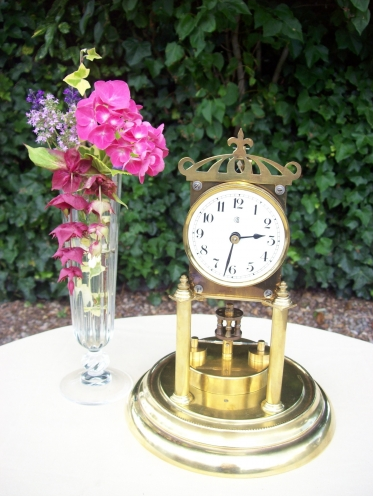 400 Day Brass Clock -SOLD-
