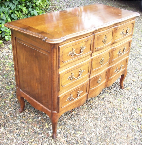Walnut Chest of Drawers -SOLD-
