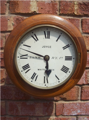 Wall Clock L&N.W.R.Y (Whitchurch)