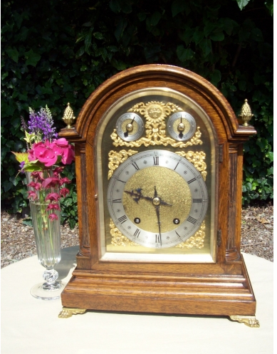 An 8 Day Oak Bracket Clock