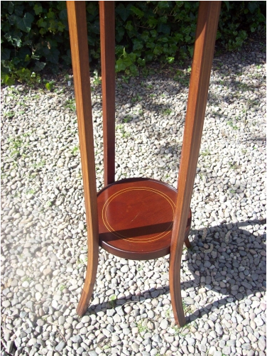Mahogany Plant Stand/Torchere -SOLD-