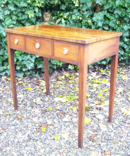 Georgian Side Table -SOLD-