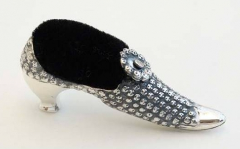 Shoe Pin Cushion -SOLD-