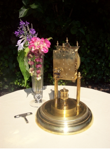 A 400 Day Brass Clock -SOLD-