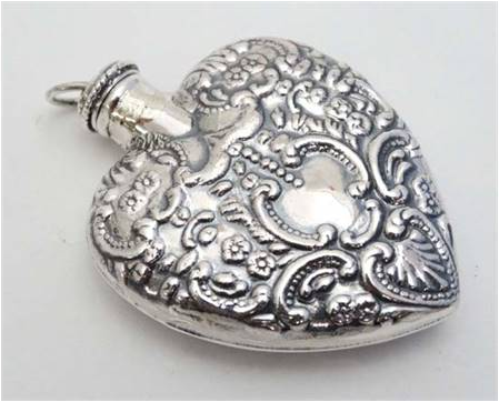 Silver Scent Bottle