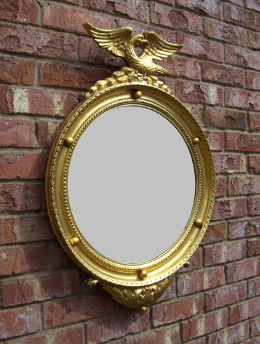 Gilt Convex Mirror -SOLD-