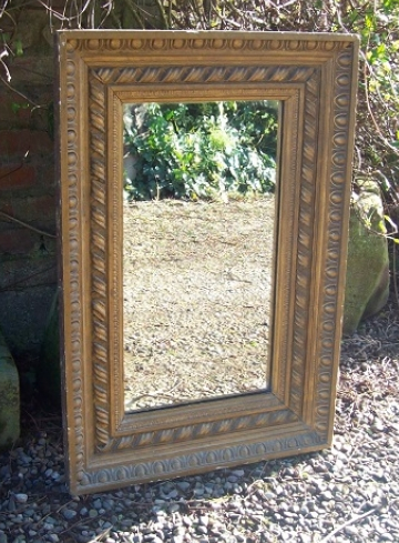 Large Gilt Mirror -SOLD-