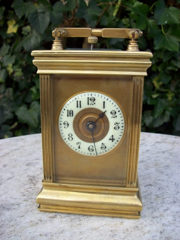 An 8 Day Carriage Clock