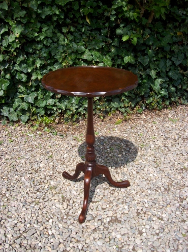 Mahogany Occasional Table -SOLD-