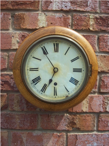 Oak Wall Clock - ON HOLD -