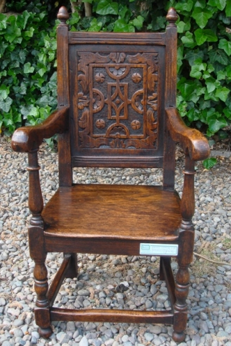 A Child's Wainscot Chair