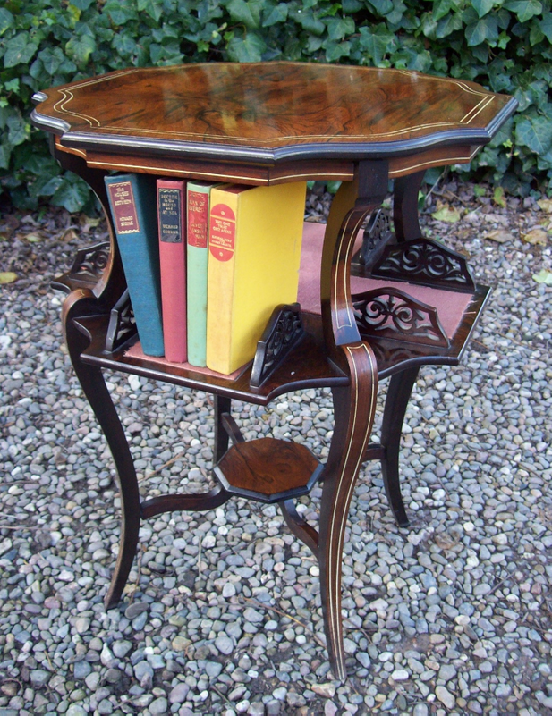 A Rosewood Occasional Table -SOLD-