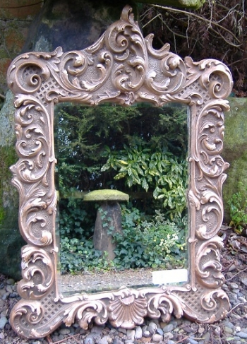 19th Ornate Gilt Mirror