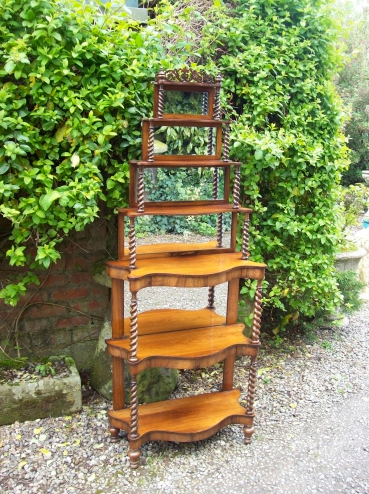 Rosewood 7 Tiered Stand -SOLD-