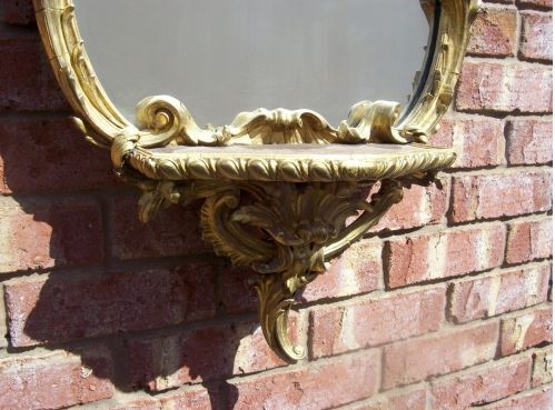 CFA 1017 - 19th Century Gilt Mirror