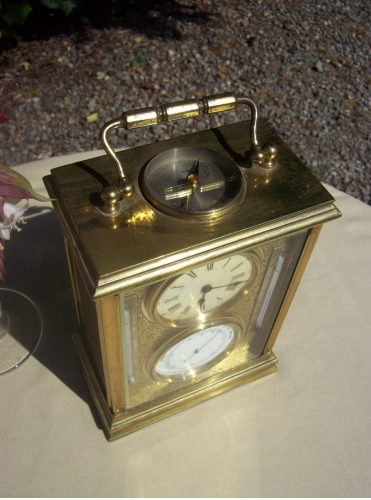 8 Day Carriage Clock -SOLD-