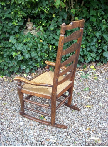 An Oak Rocking Chair