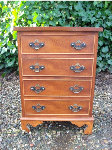 Yew Wood Chest -SOLD-