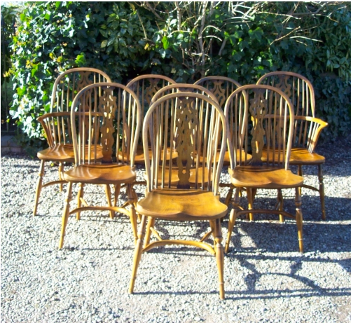 Set 8 Hoop Back Windsors -SOLD-