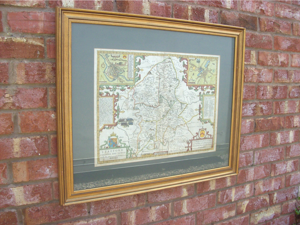 Map of Staffordshire -SOLD-
